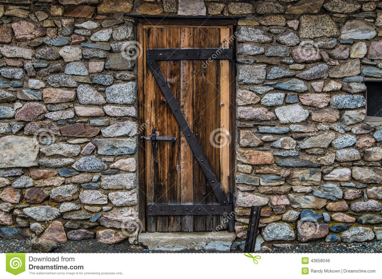 Historic stone wall and door stock photo image 43658046 for Door in the wall
