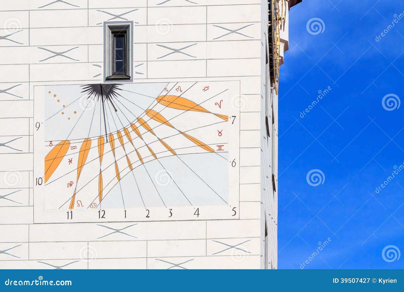 Historic sundial