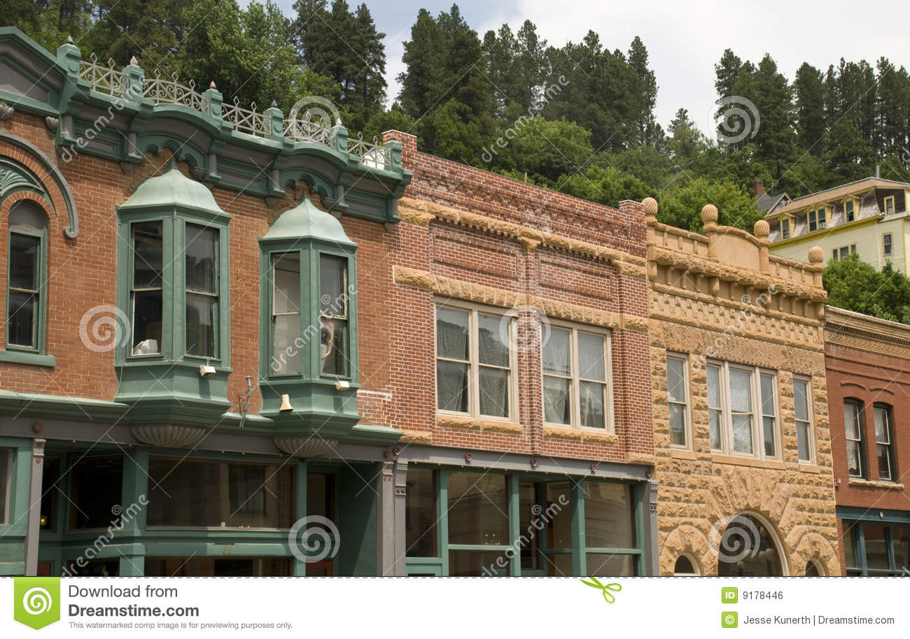 Historic Town of Deadwood, South Dakota