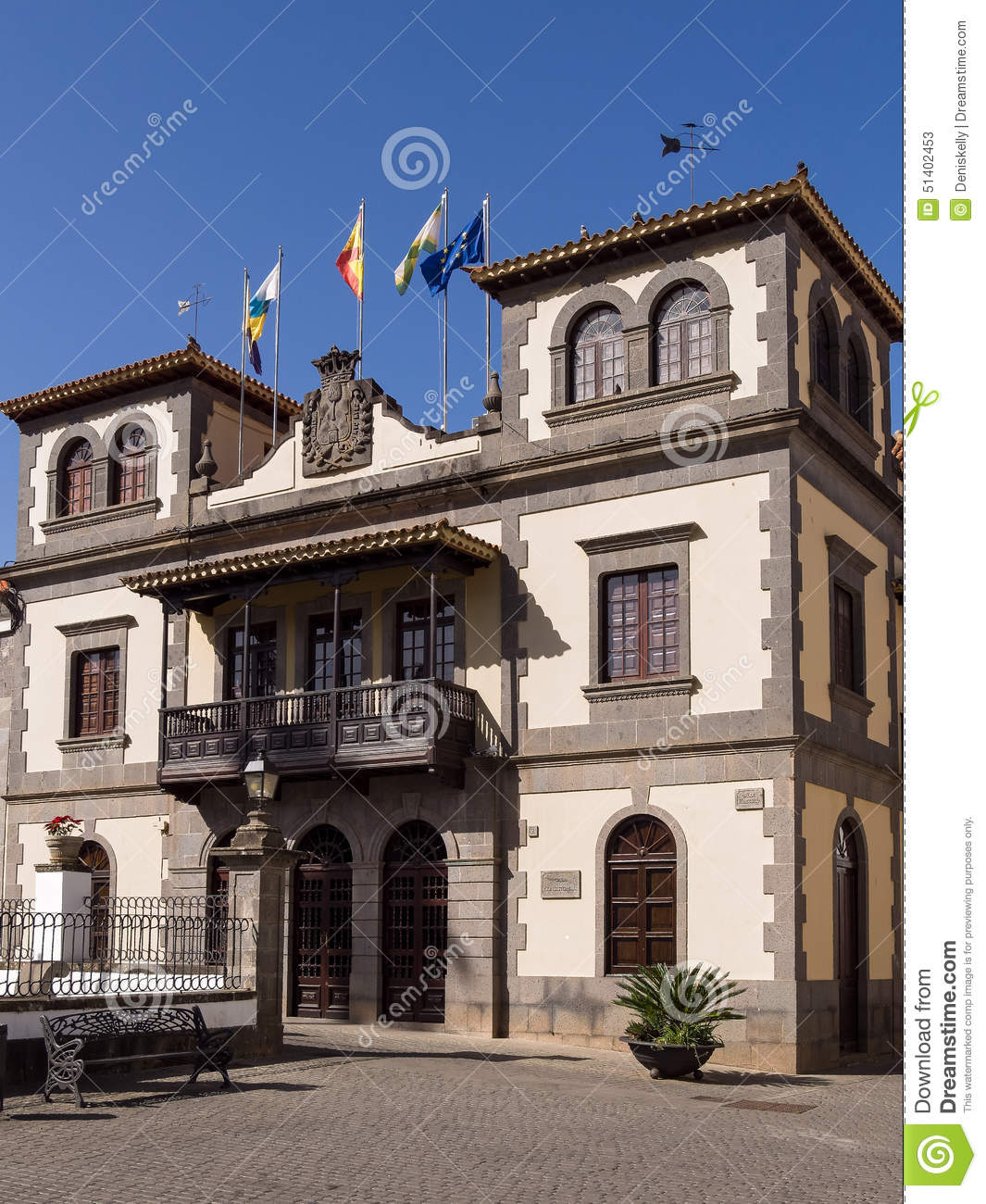 Historic Town Hall in Gran Canaria, Spain