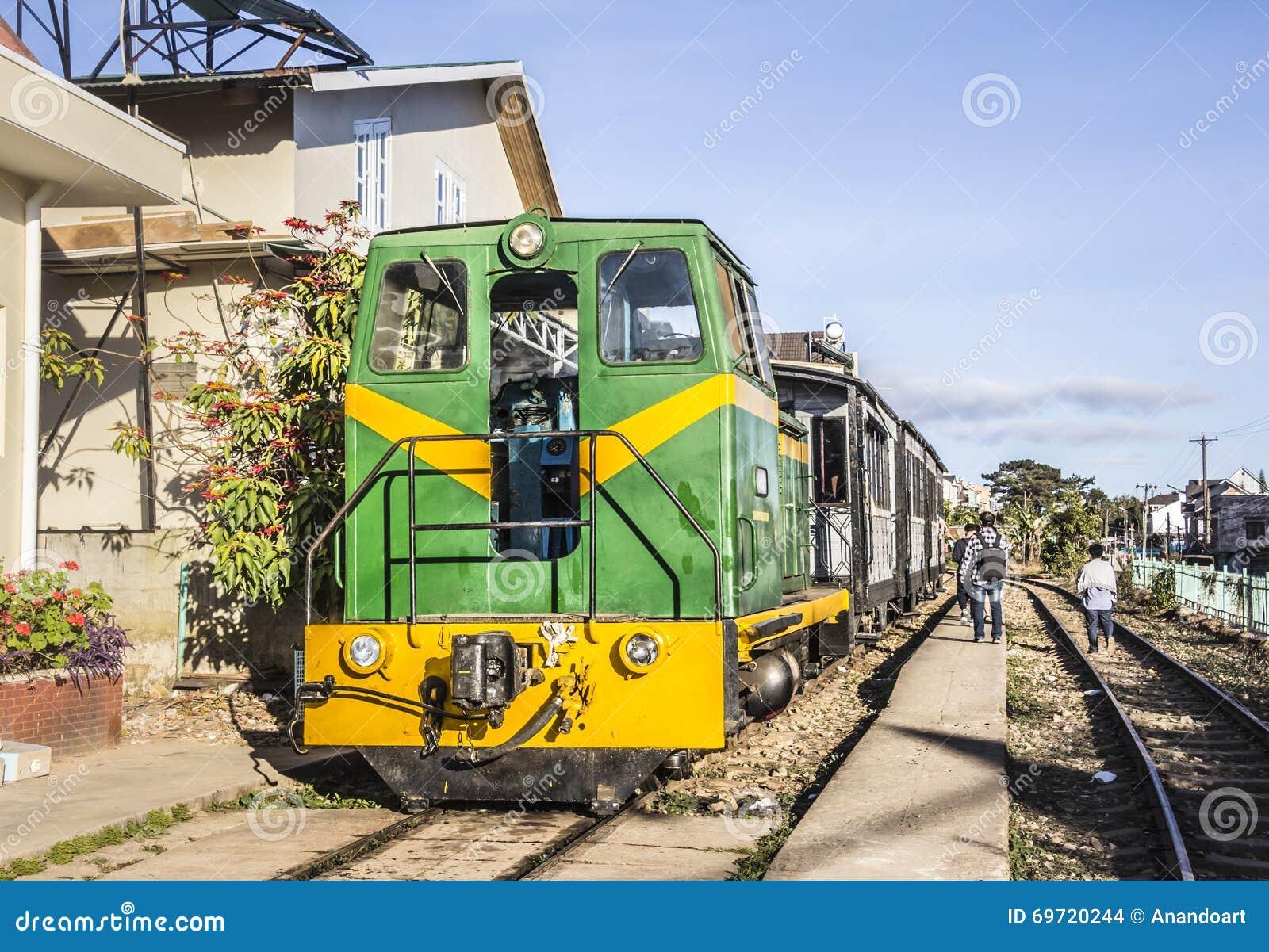Historic Train At Dalat Editorial Stock Image Image