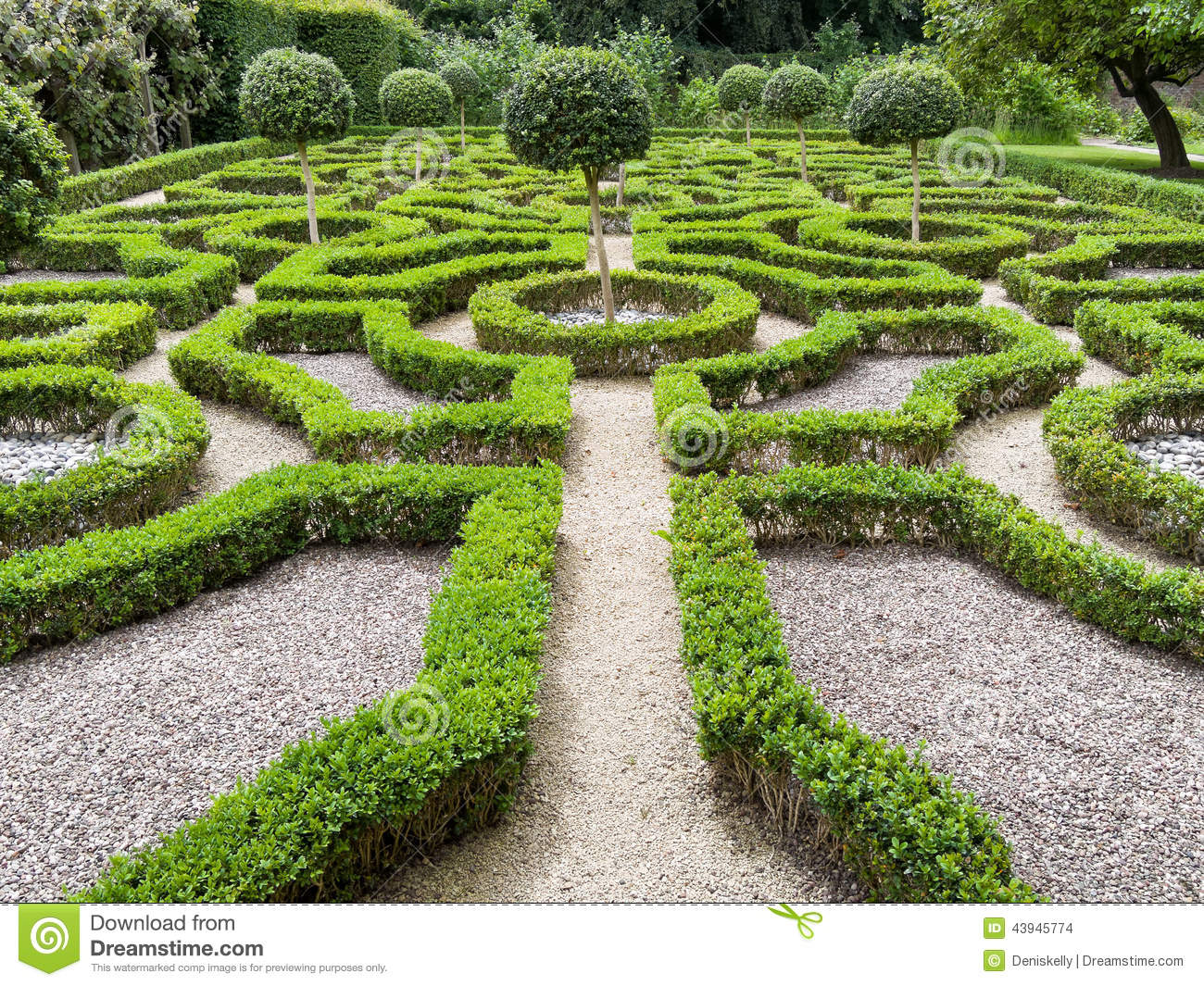 Historic english tudor garden stock photo image 43945774 for Tudor knot garden designs