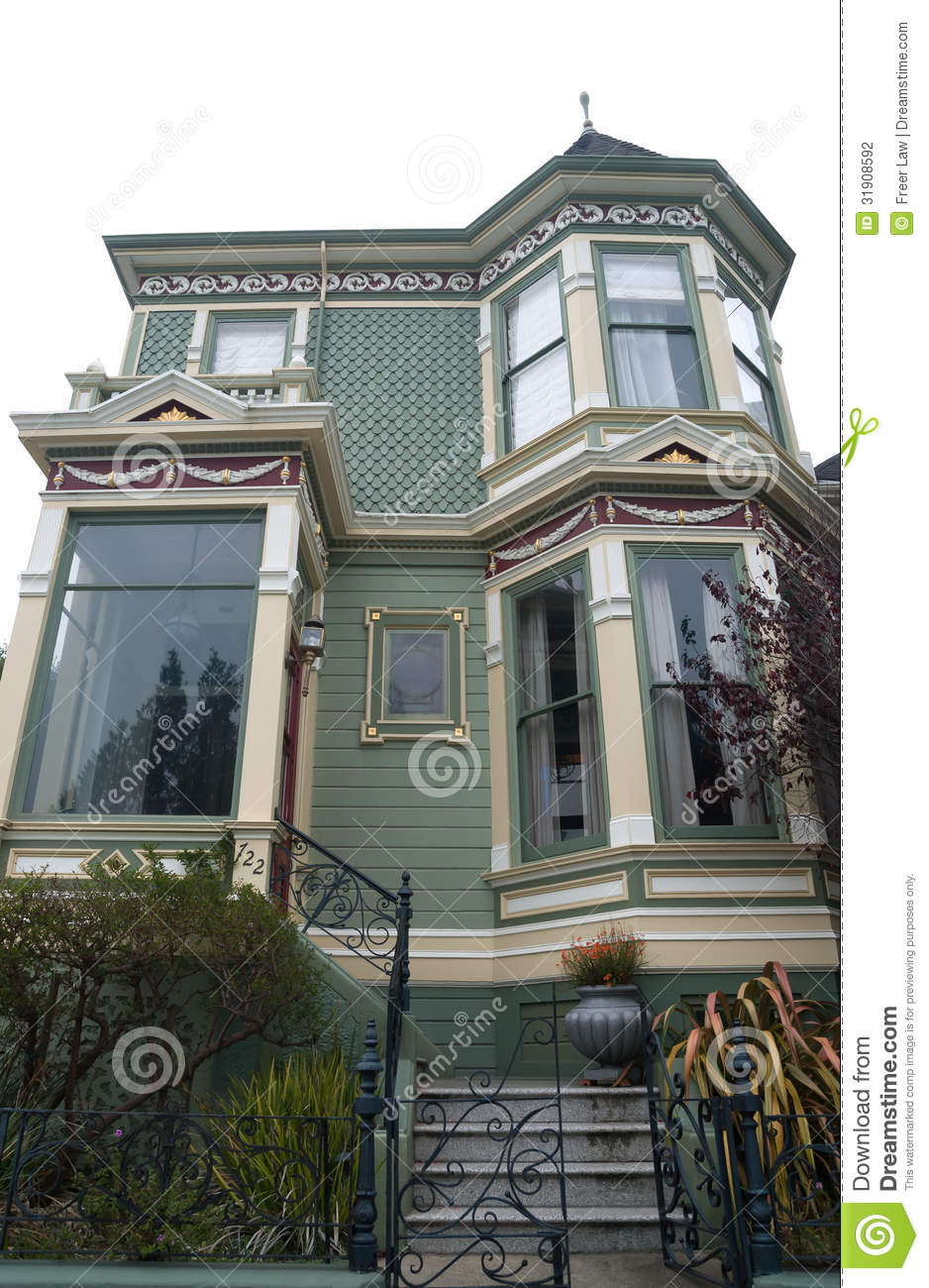 Historic Victorian Home Stock Photography Image 31908592