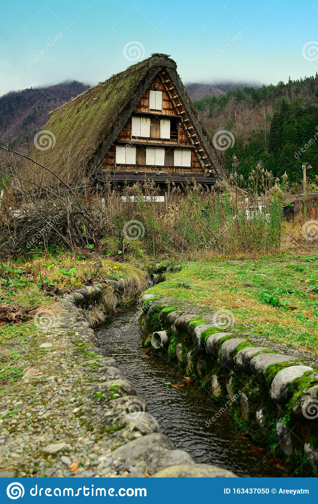 Historic villages of Shirakawa-go.