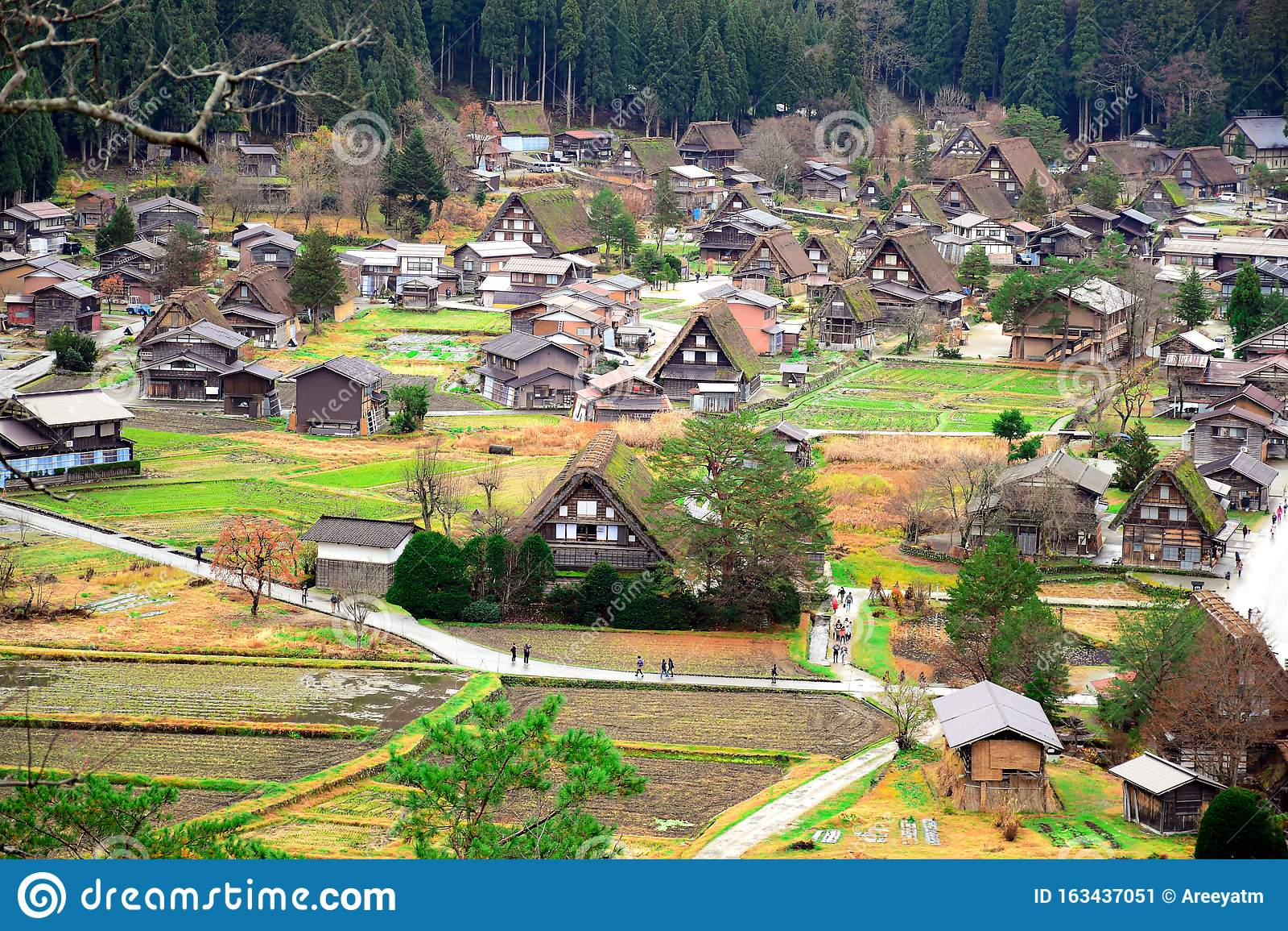 Historic villages of Shirakawa-go.