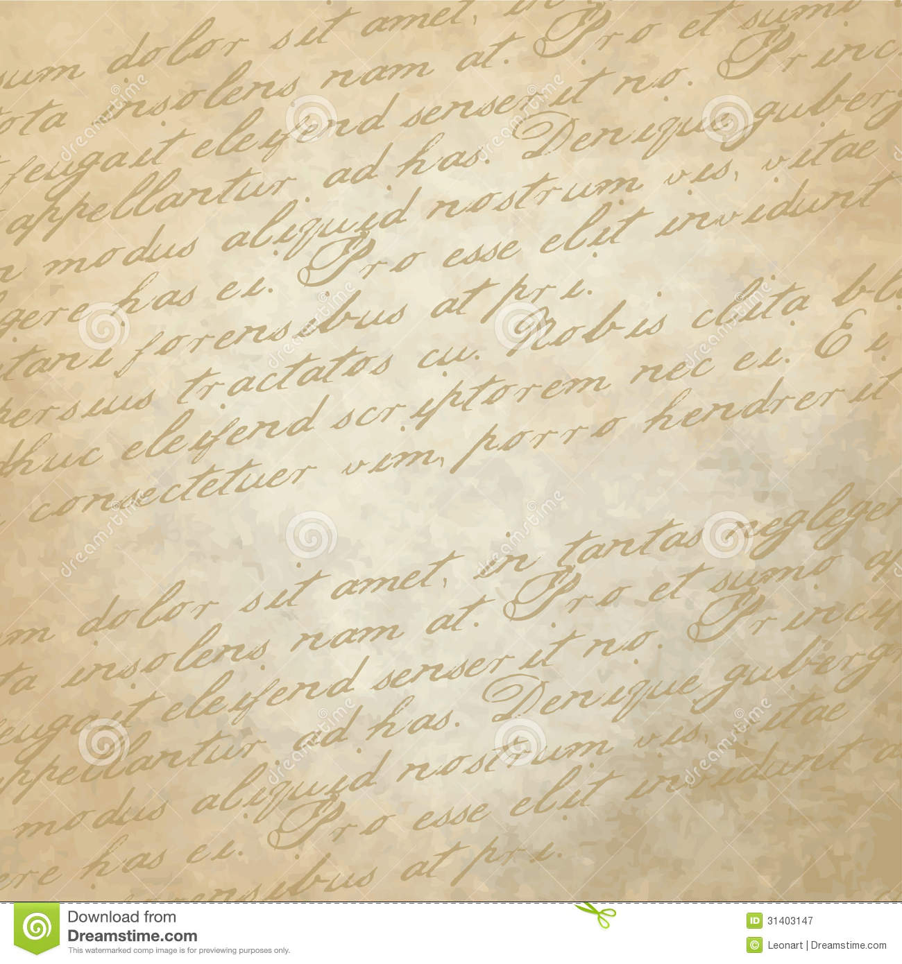 Royalty Free Stock Photography Historical Background Old Paper Copy Sp...
