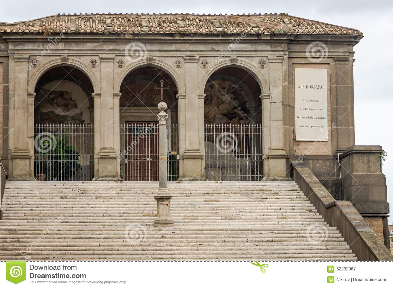 Historical Building A House Of Worship St Mary Araceli In