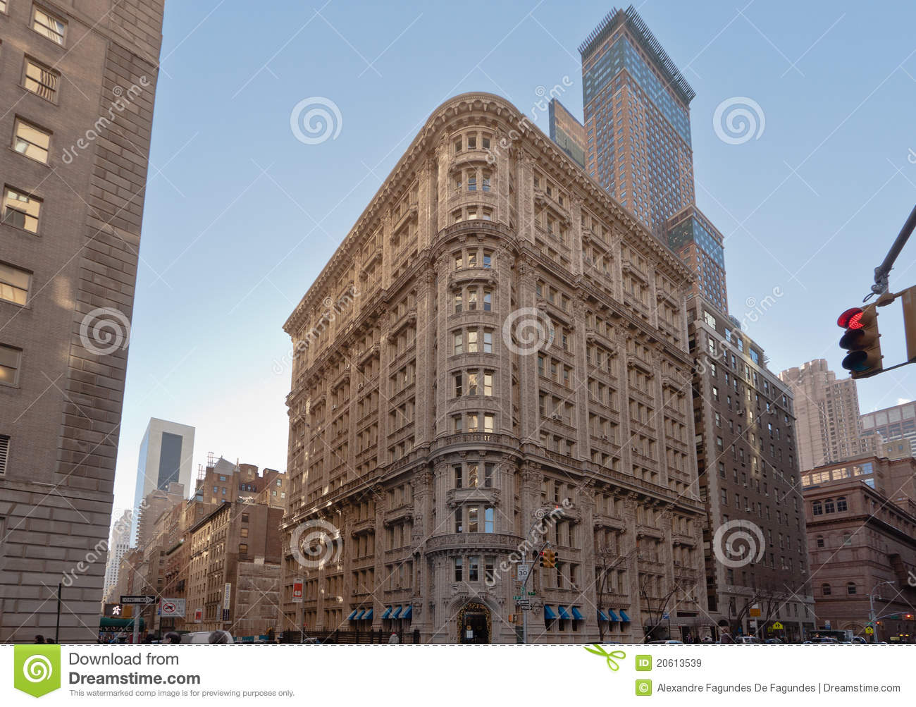 Historical Building In New York City Editorial Stock Image