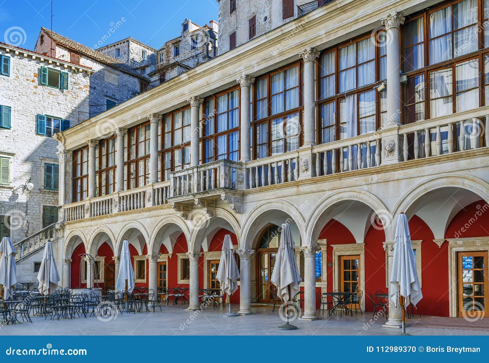 Historical building, Sibenik, Ceoatia