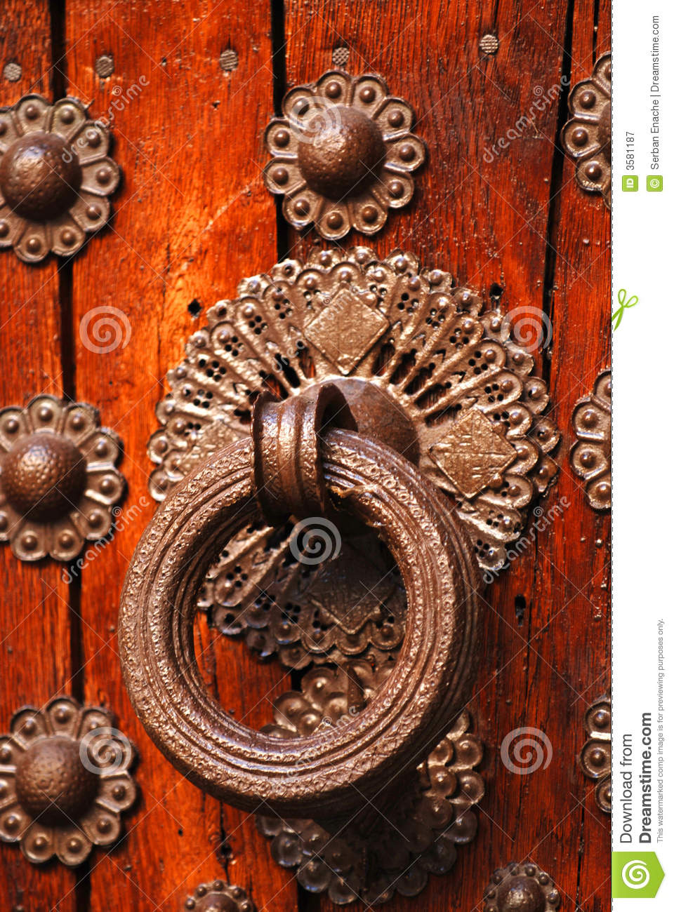 Historical door detail