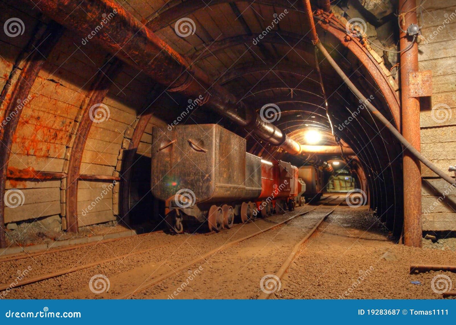 Historical gold, silver, copper mine