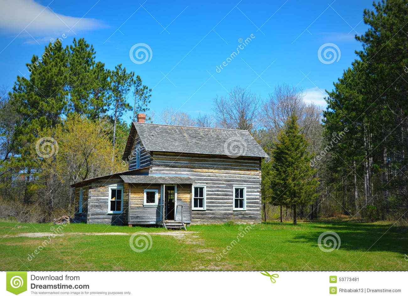 Historical home stock image image of antiquity for Evergreen house