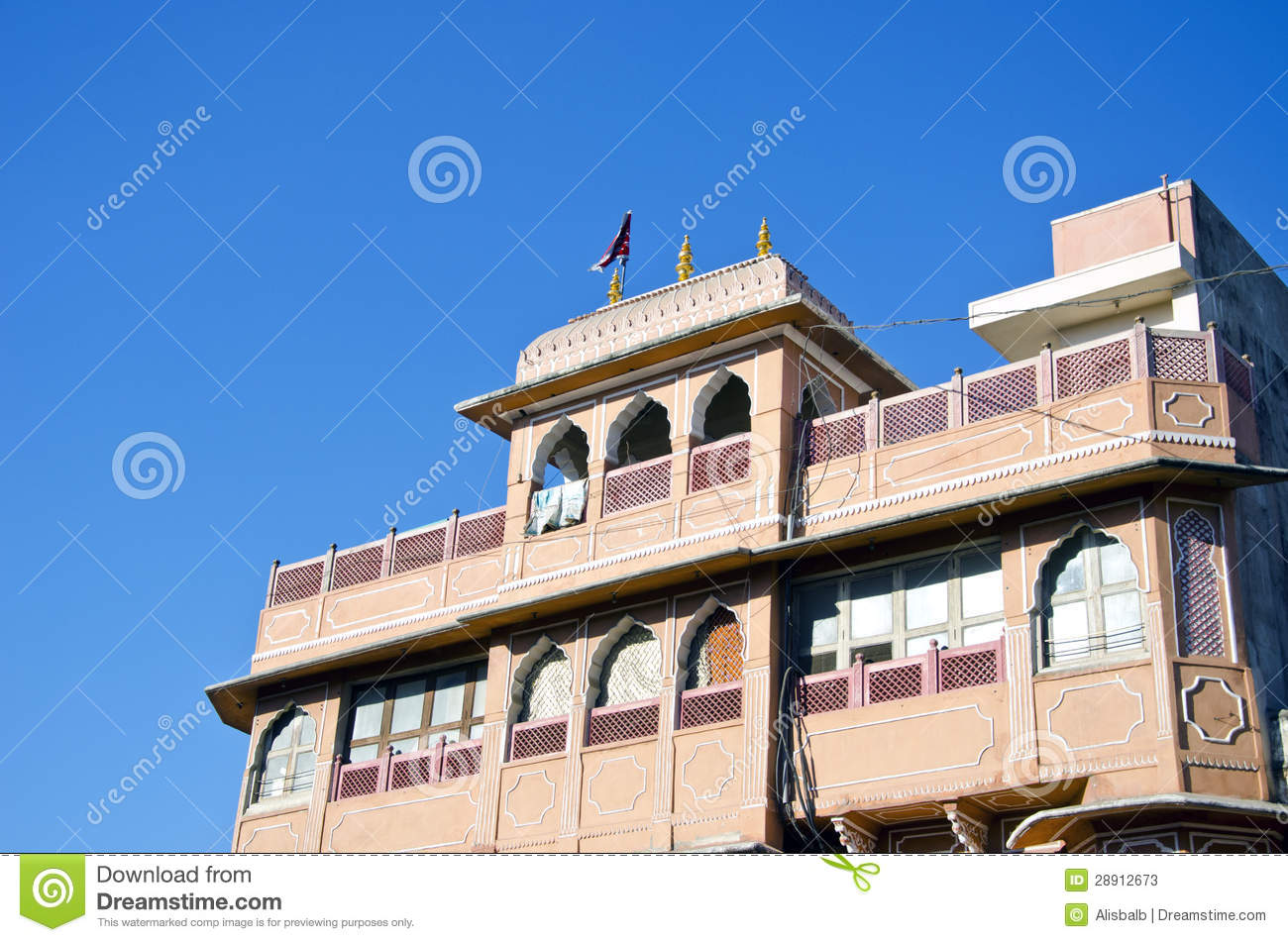 Historical house in jaipur india stock photos image for Home architecture jaipur