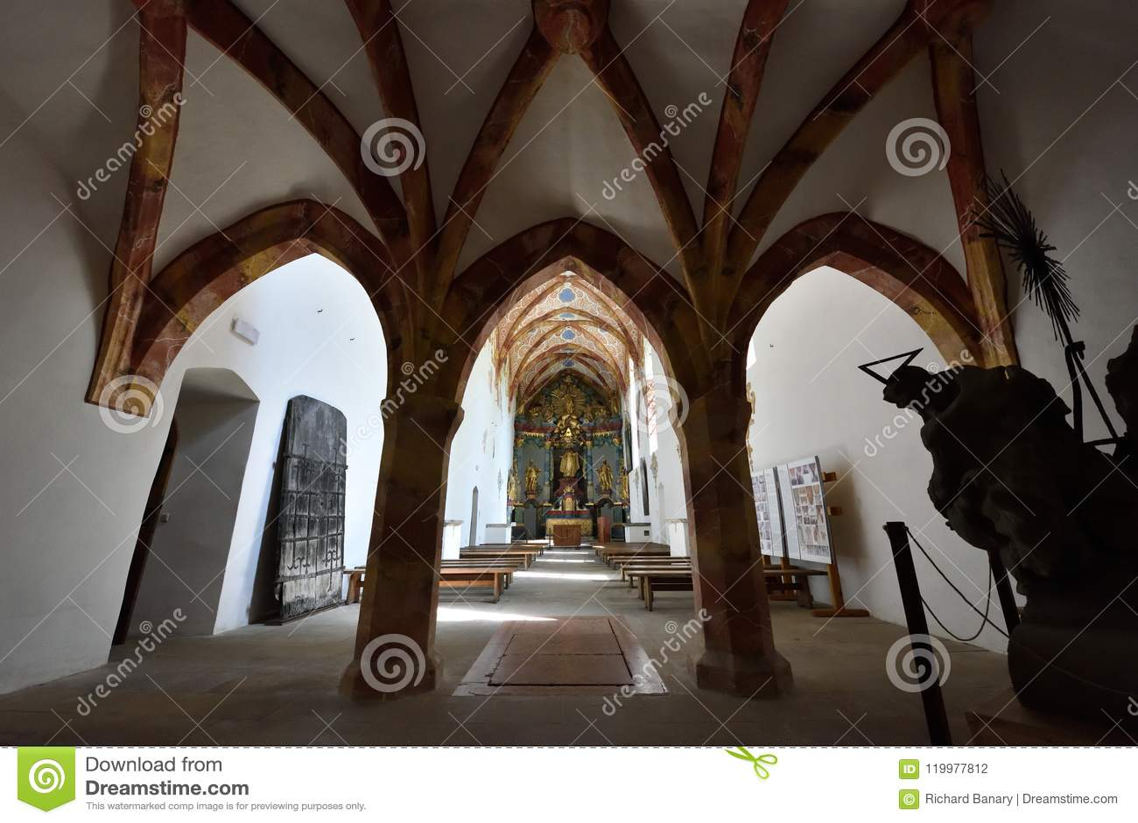 Red Monastery Church, Spis region, Slovakia