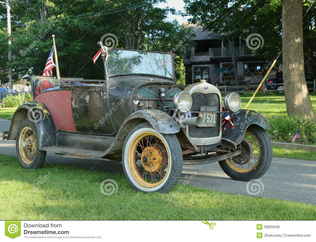 Historical 1929 Model A Ford Editorial Stock Photo Image 33805638