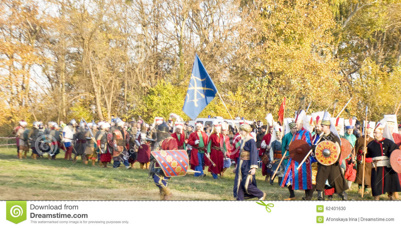 Historical Reenactment In Varna Editorial Image Image
