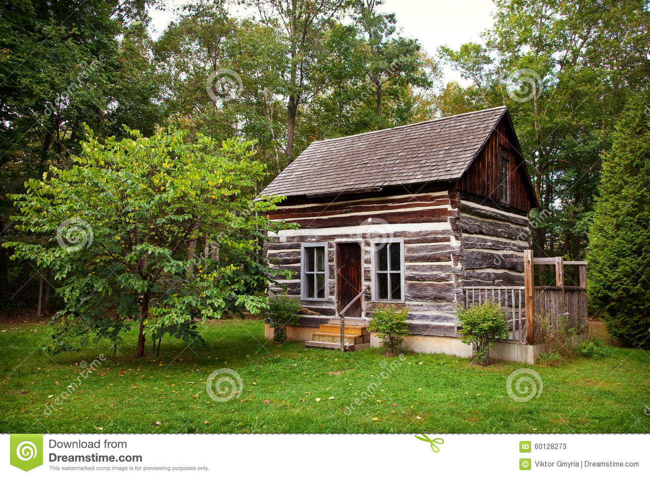 Historical rustic pioneer log cabin house ontario canada for Cabin floor plans canada