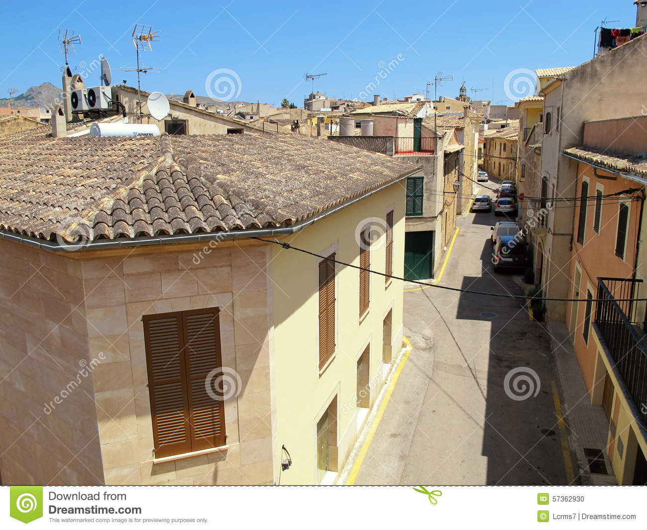 Historical town part of Alcudia (Mallorca, Spain)