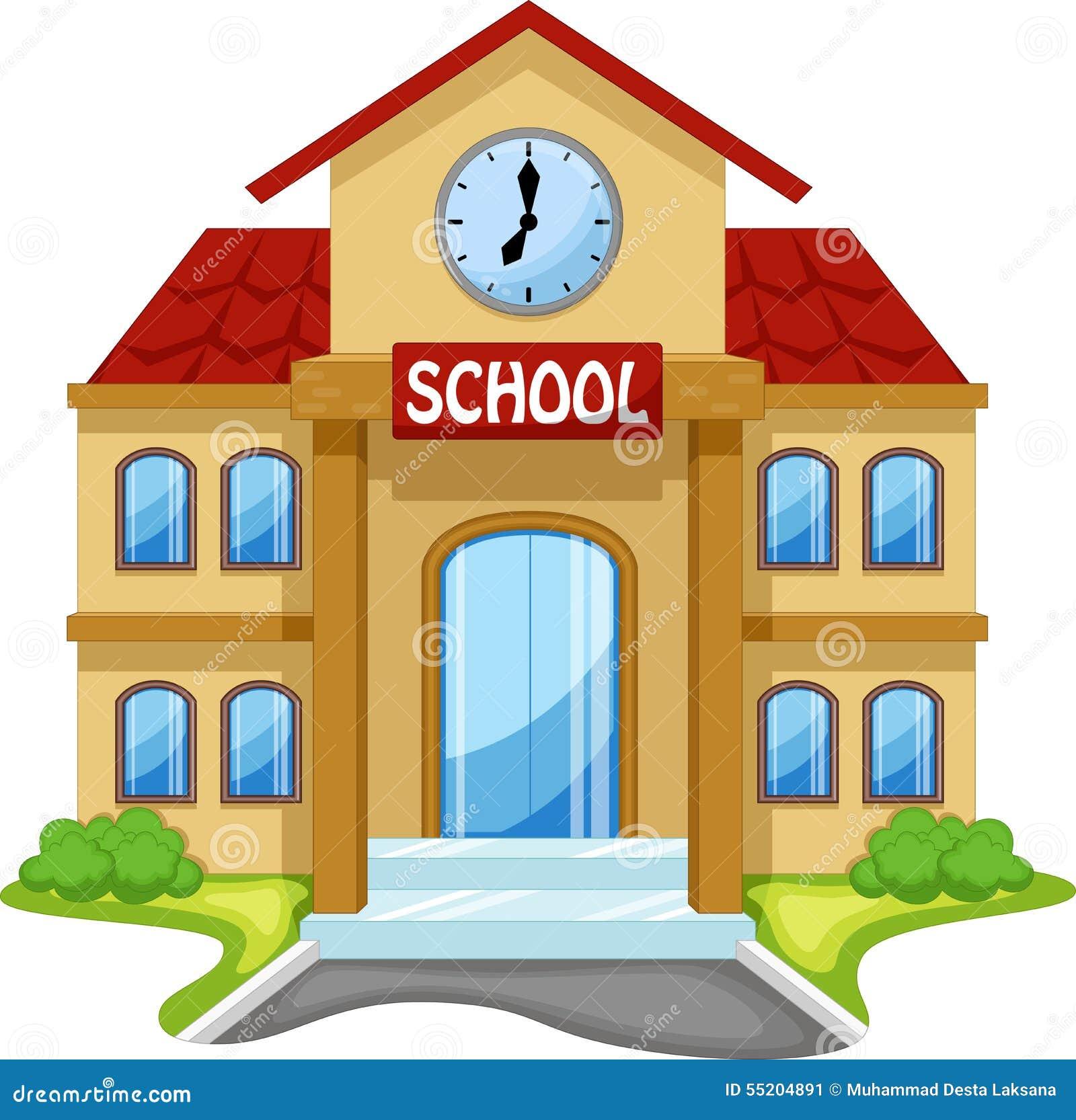 Historieta de la construcción de escuelas