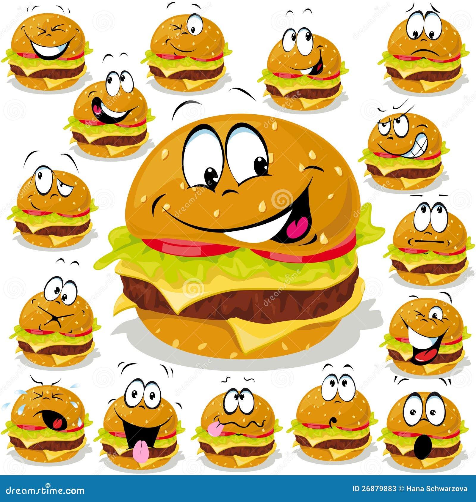 Historieta de la hamburguesa