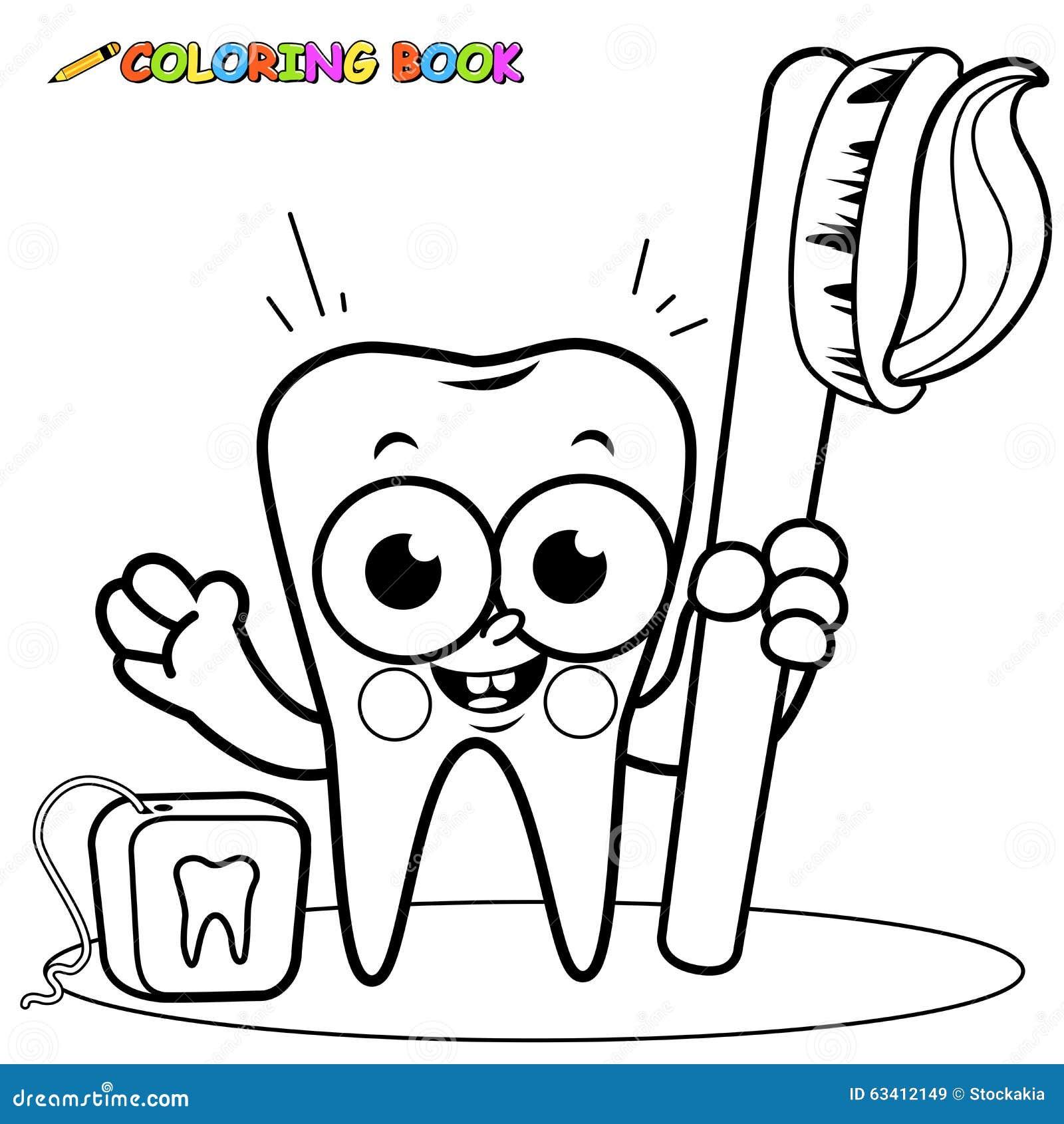 Lujo Dental Halloween Para Colorear Páginas 2 Foto - Dibujos Para ...