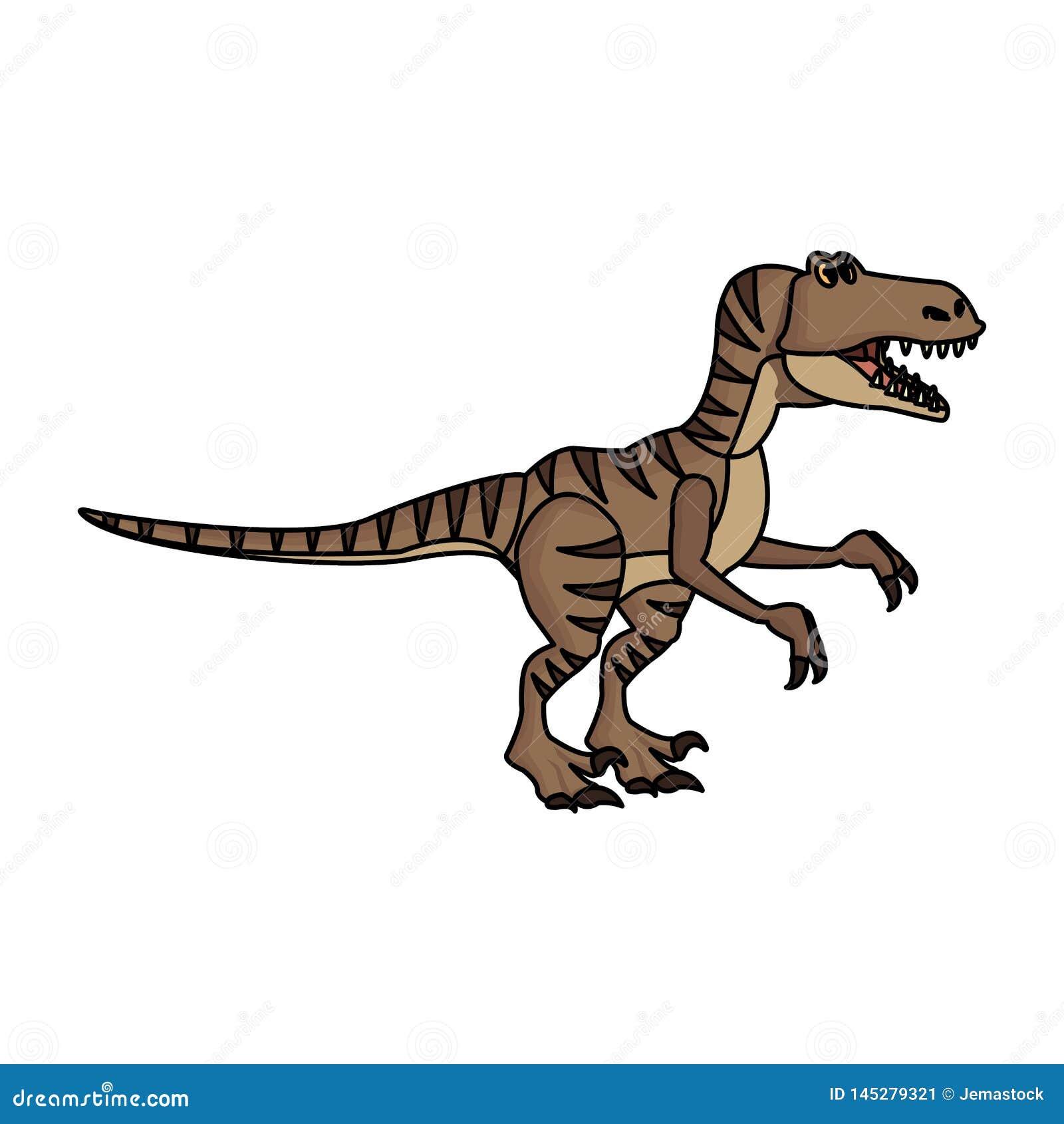 Historieta del dinosaurio del rapaz