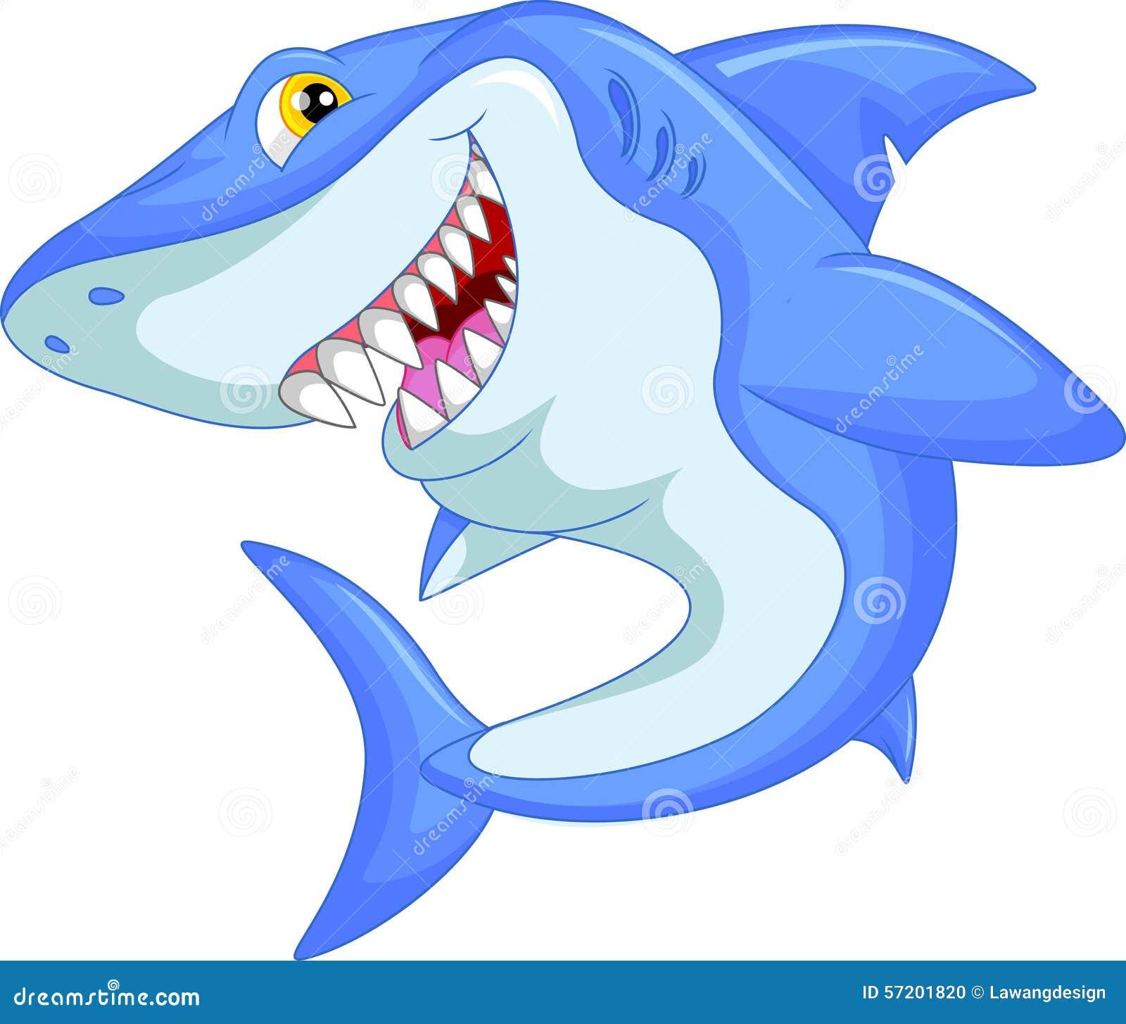Historieta divertida del tiburón