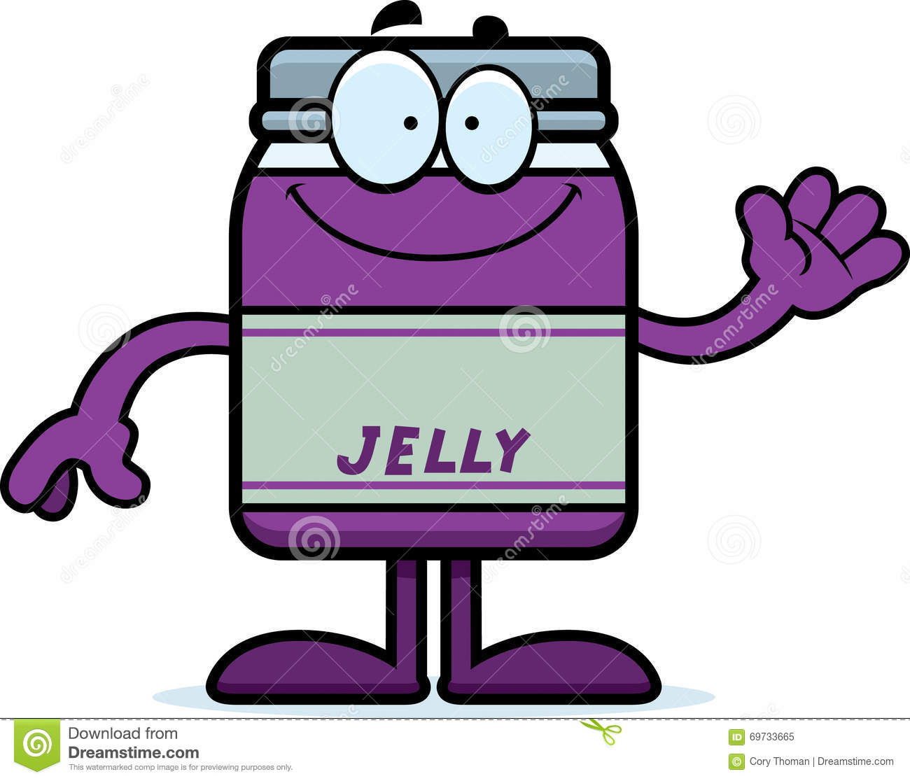 Historieta Jelly Jar Waving