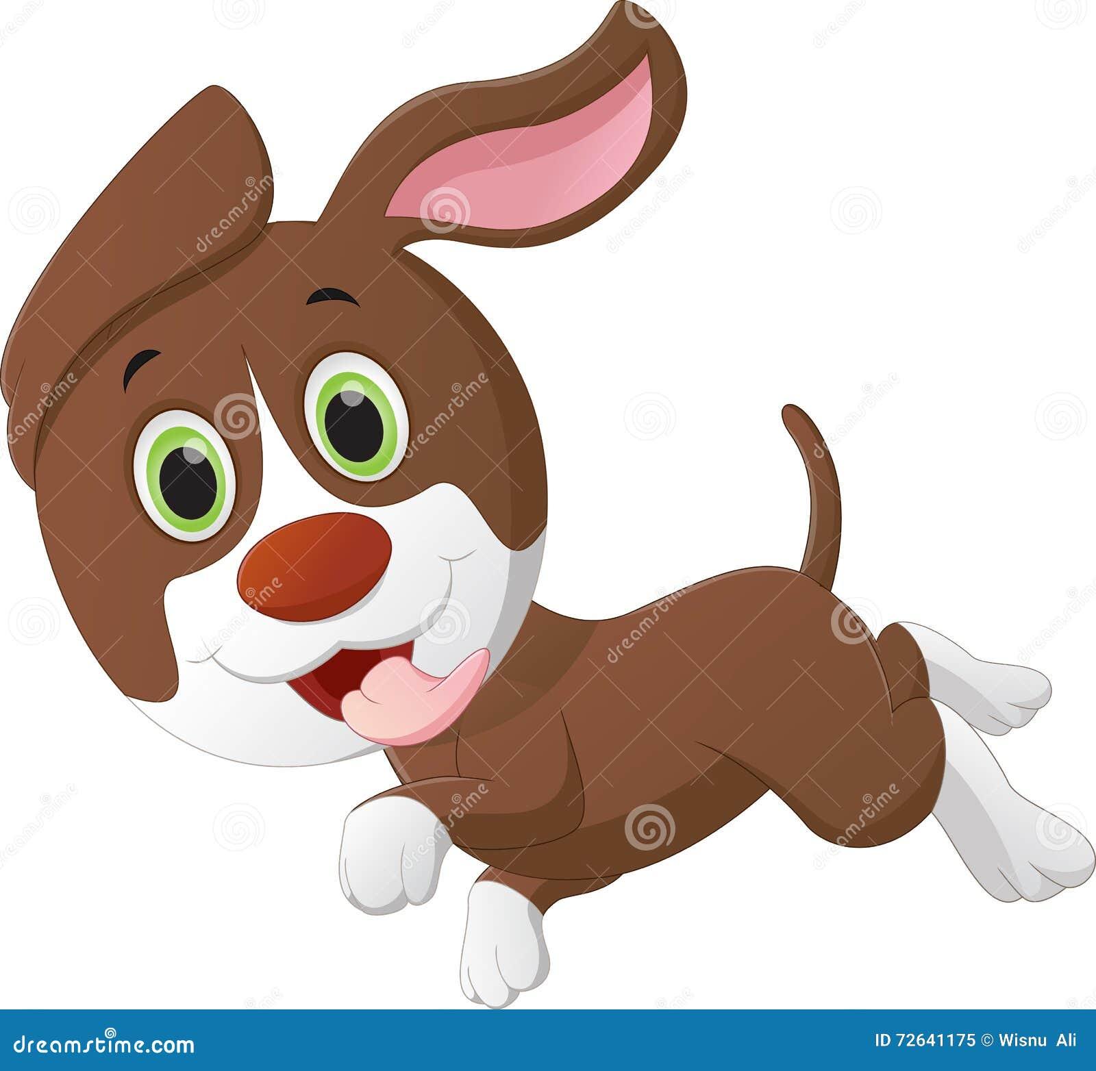 Historieta linda del pequeño perro