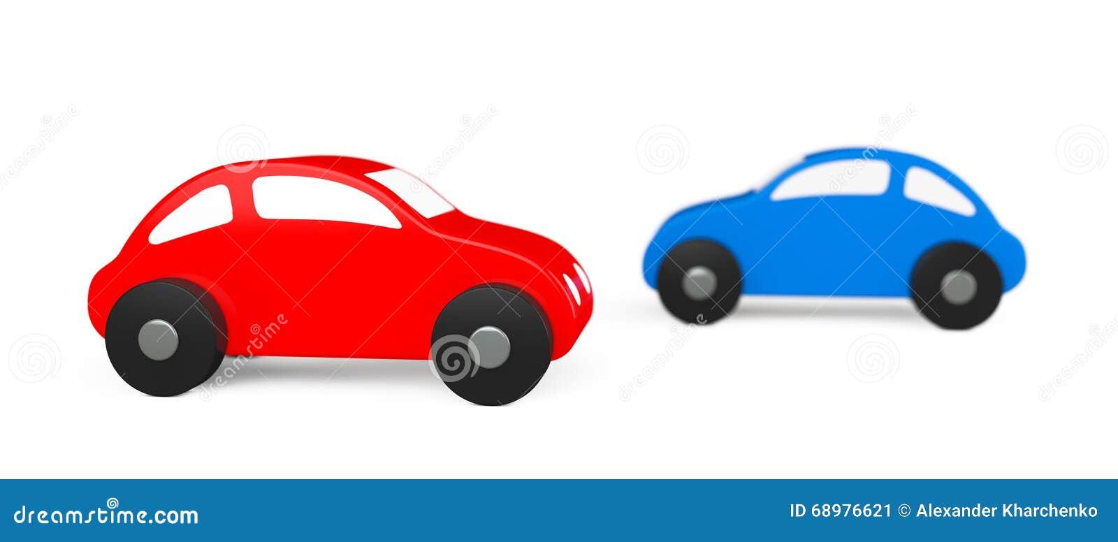Historieta multicolora Toy Cars