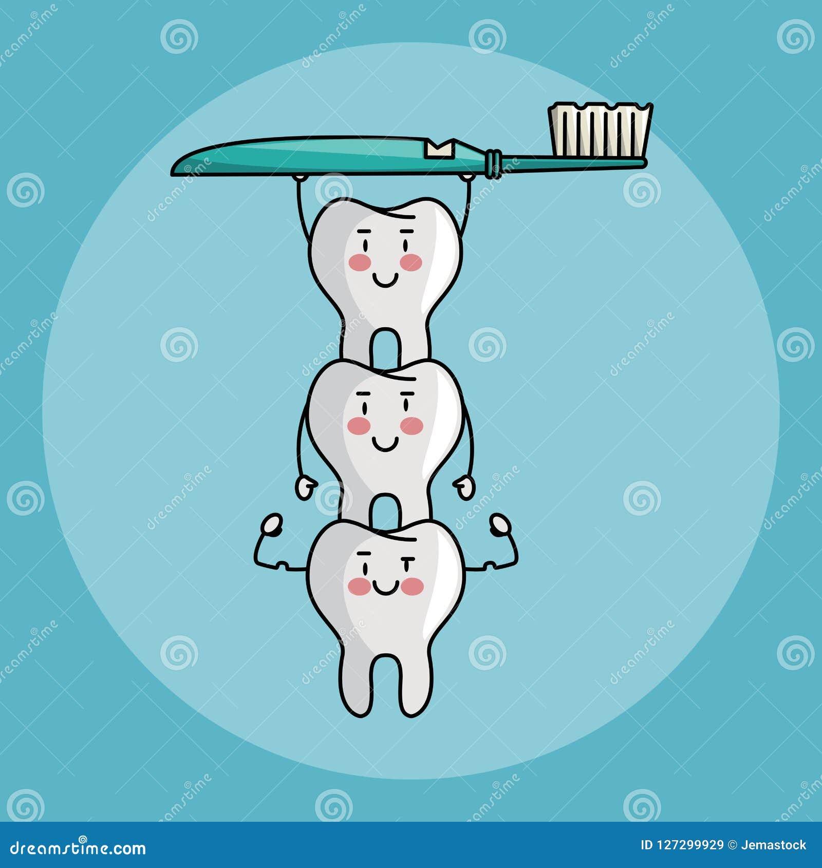 Historietas del cuidado dental
