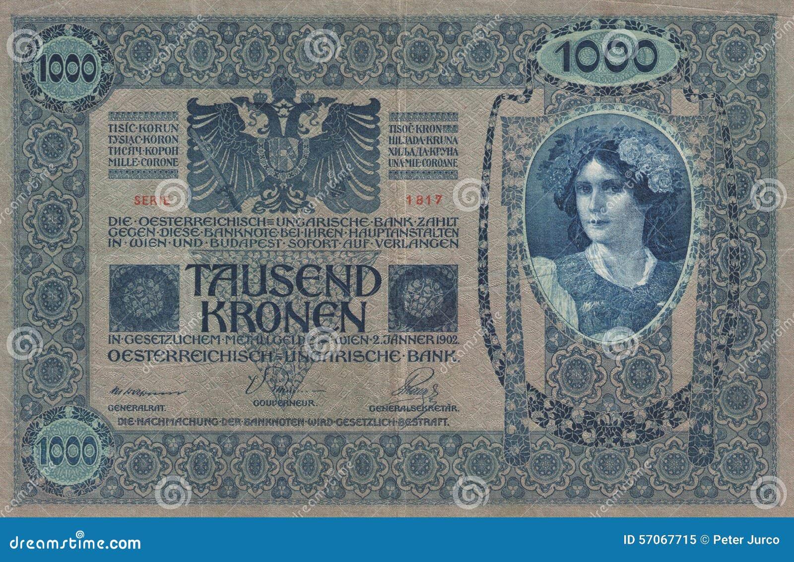 Historisch - bankbiljet