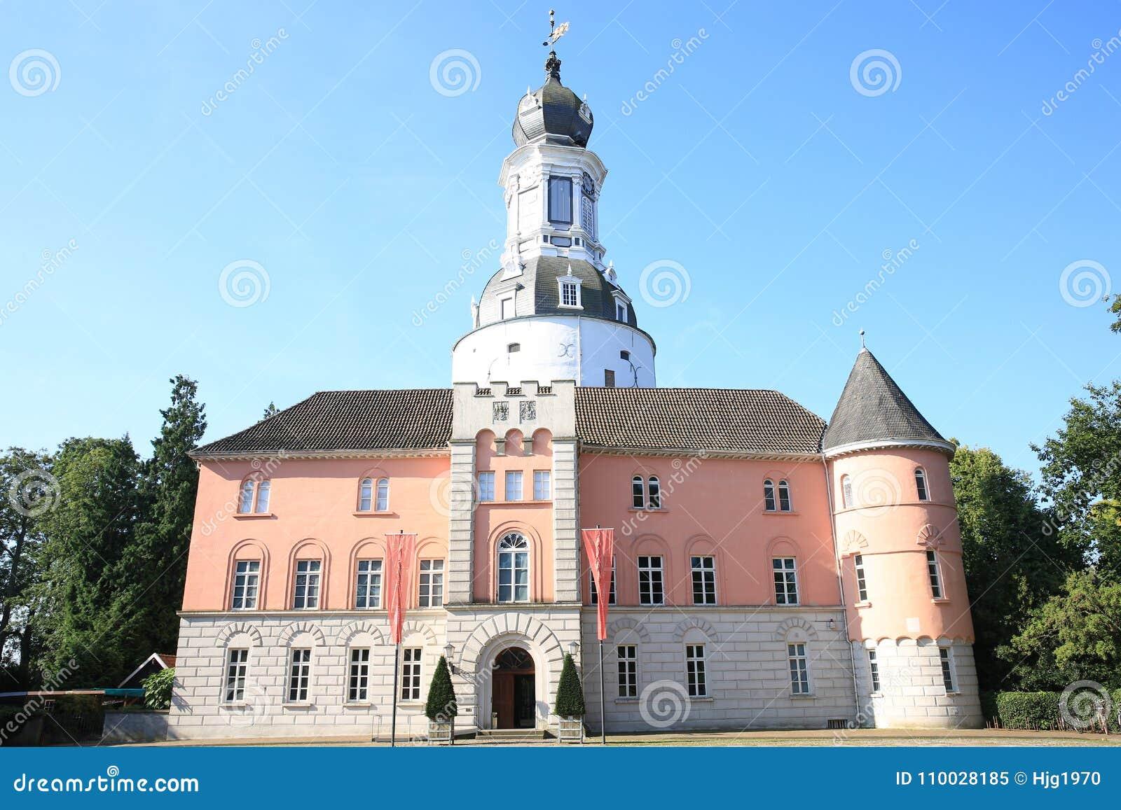 Historisch en mooi Kasteel Jever in Friesland, Nedersaksen, Duitsland