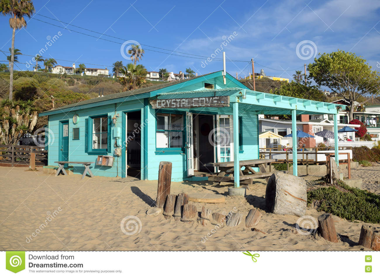 Historisch huis in Crystal Cove State Park