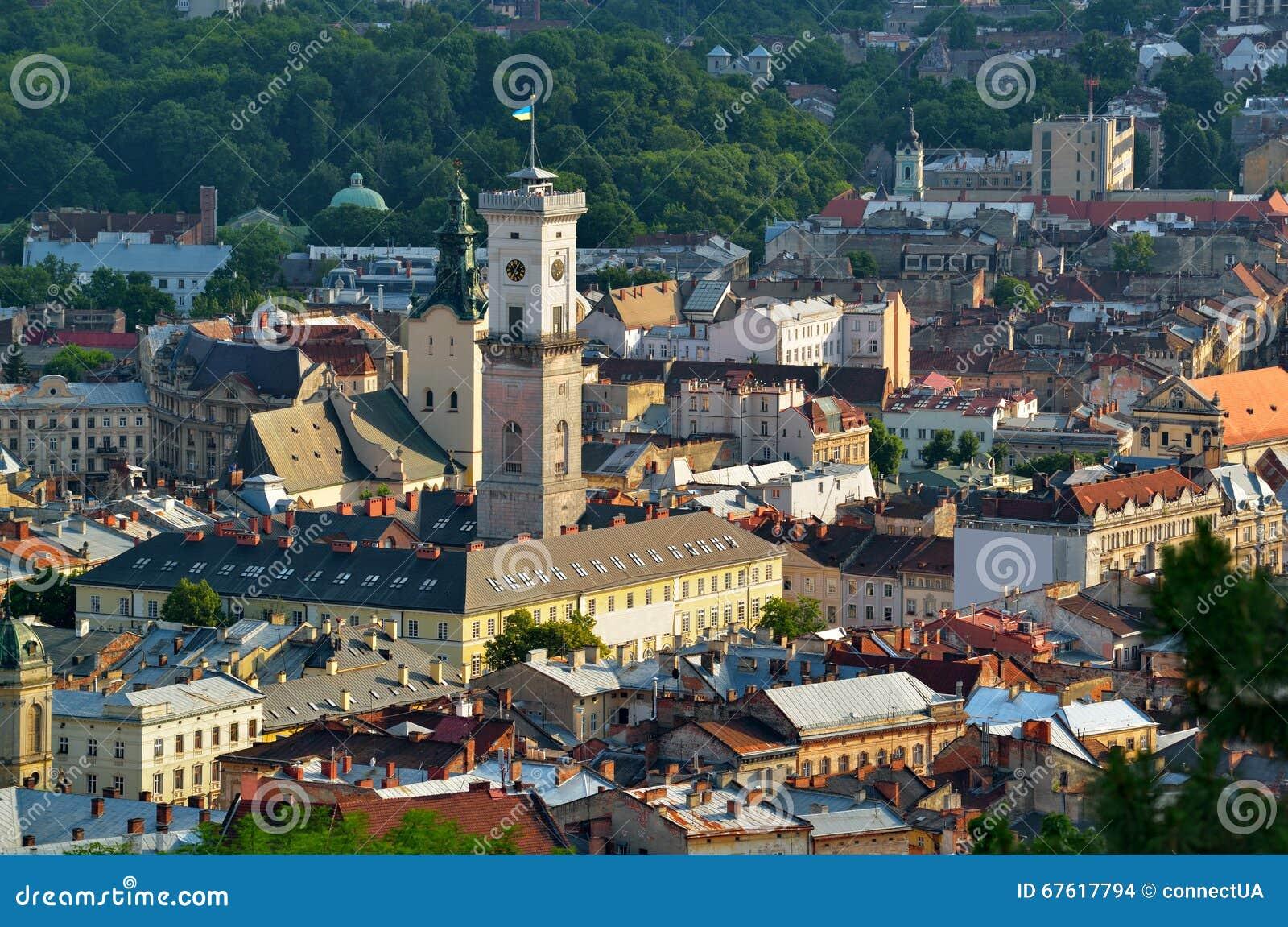 Historisch stadscentrum van Lviv