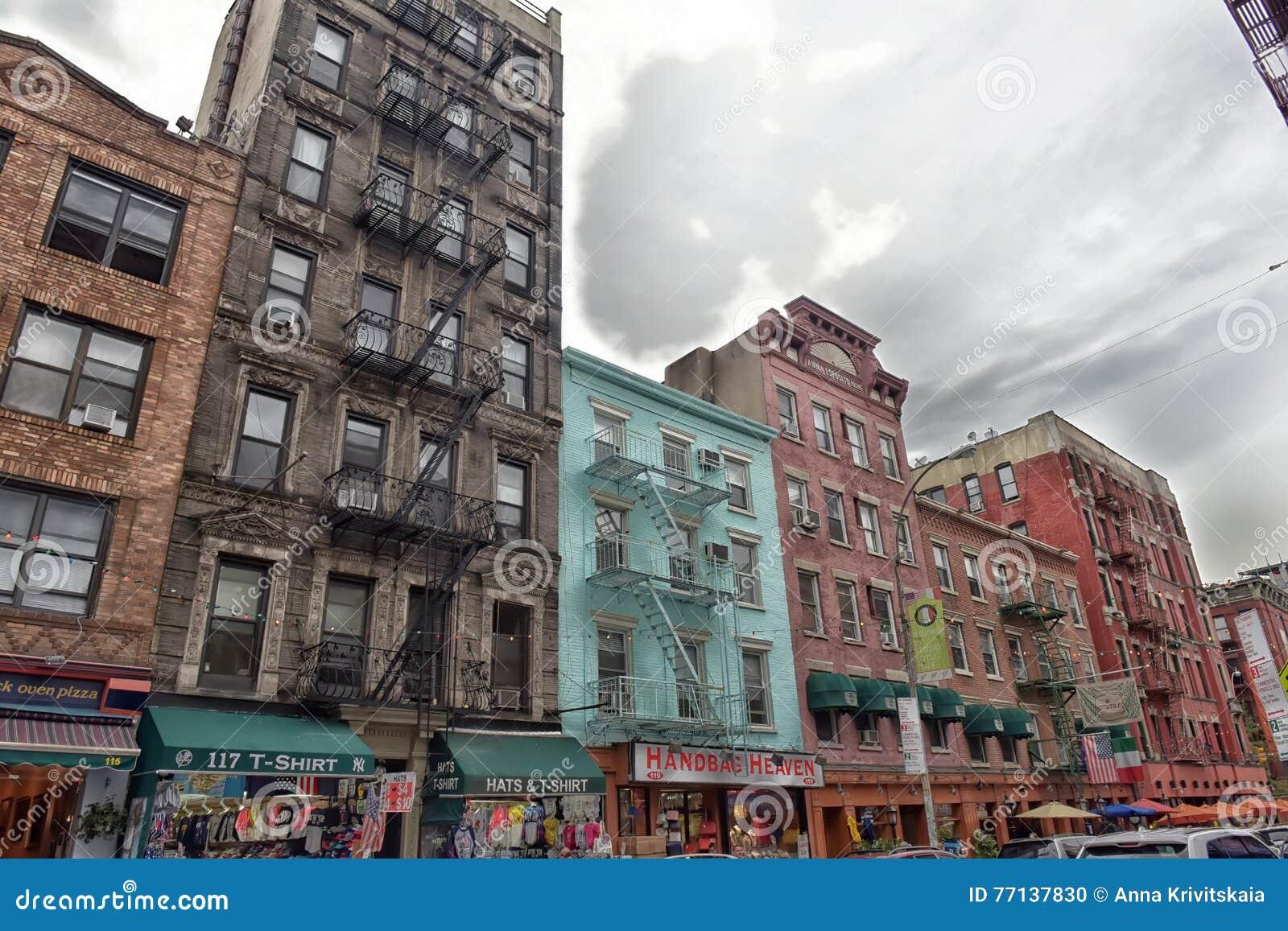 Historisch Weinig Italië in NYC, de V.S.