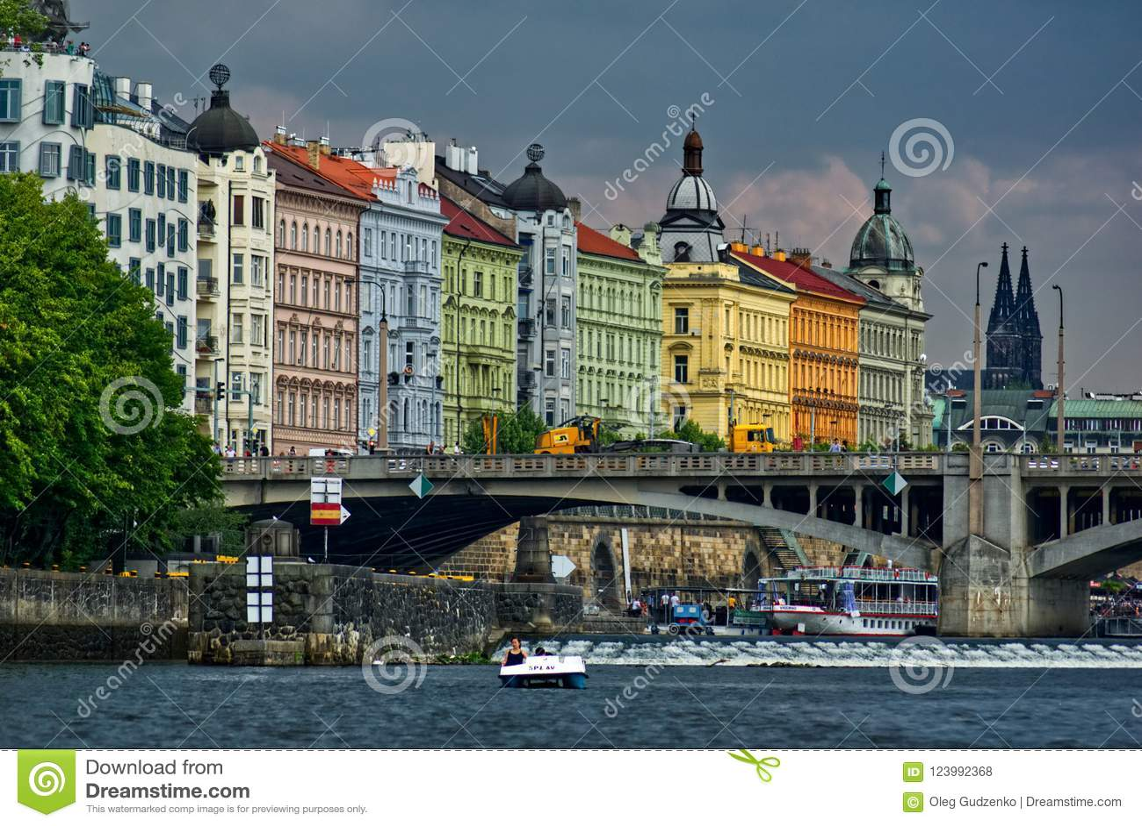 Historische architectuur in Praag
