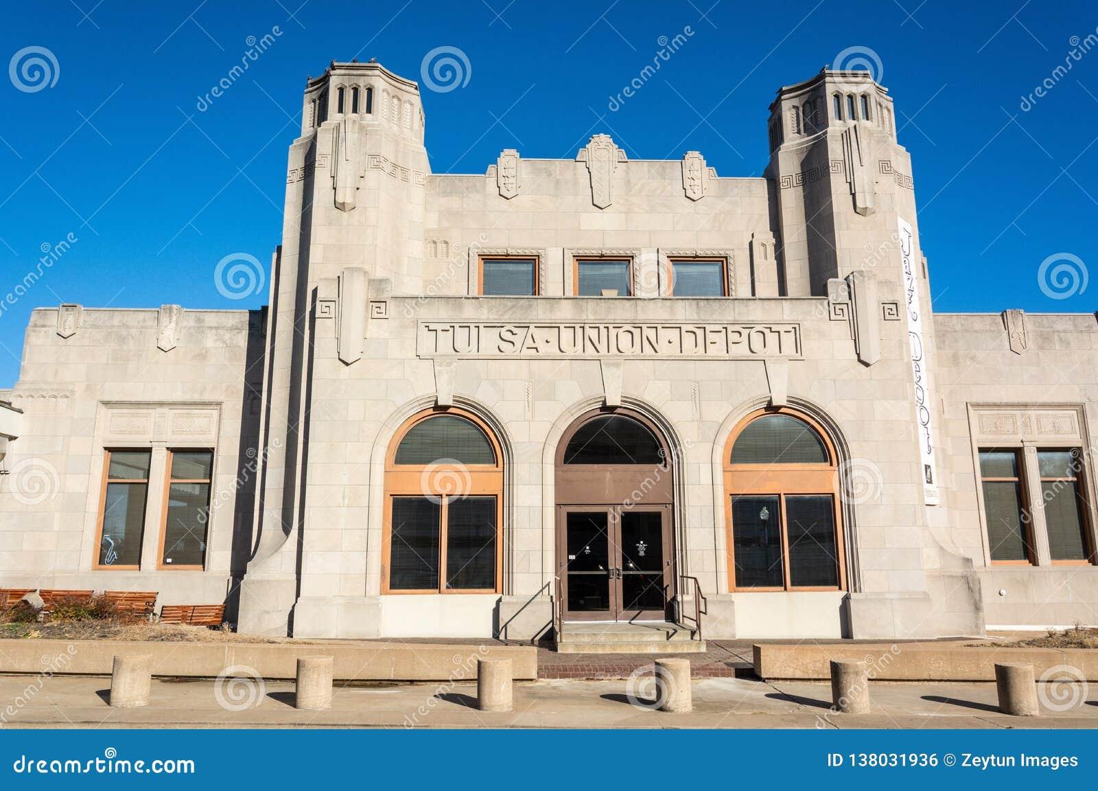 Historische de bouwhuisvesting Oklahoma Jazz Hall van Bekendheid in Tulsa, O