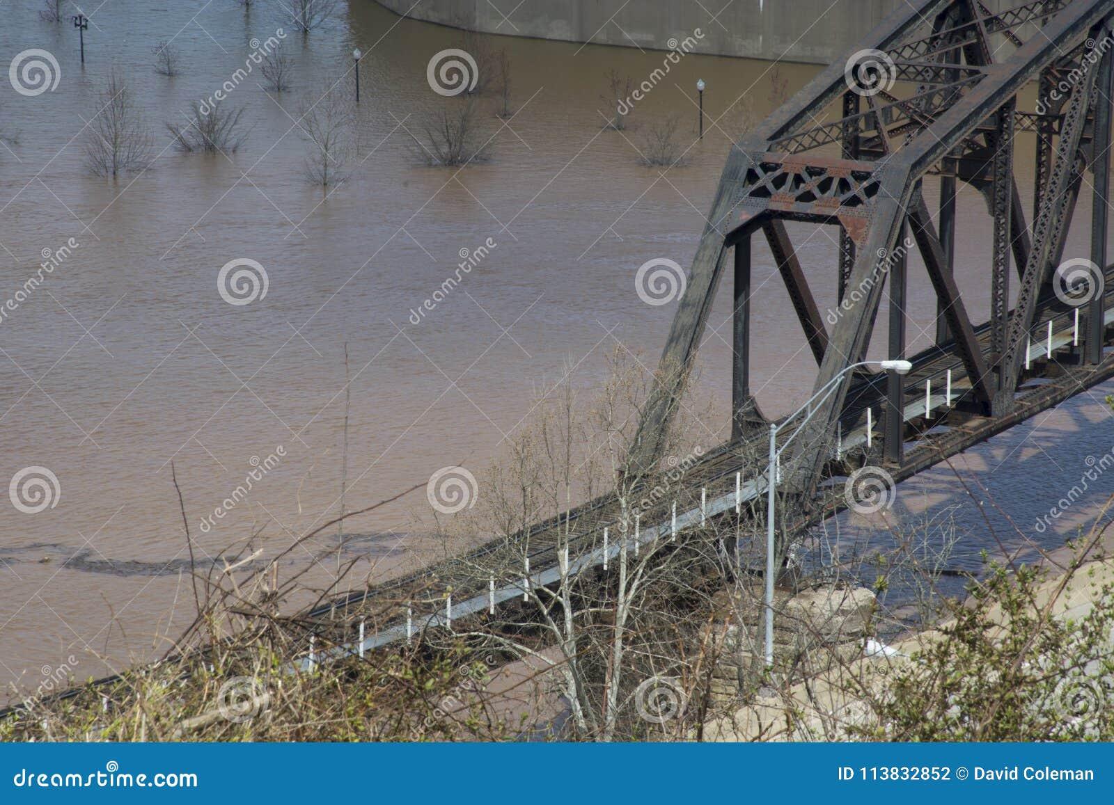 Historische Eisenbahnbrücke