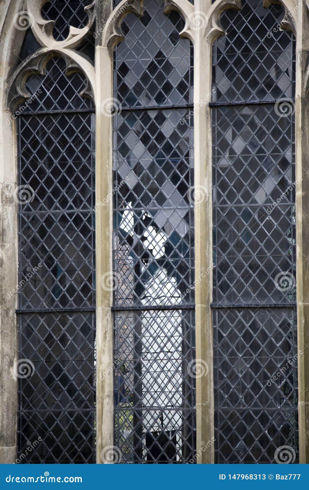 Historische leaded vensters