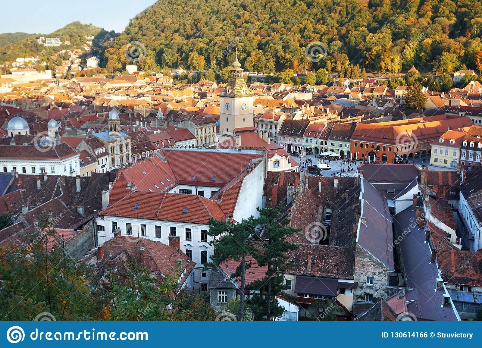 Historische Mitte von Brasov, Rumänien