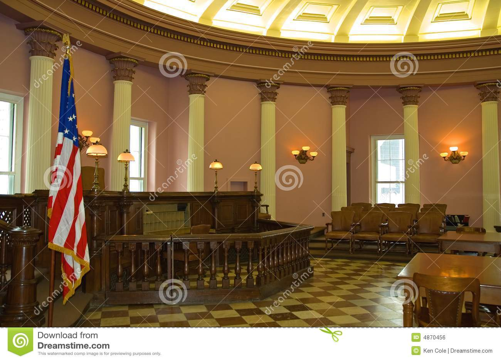 Historische rechtszaal