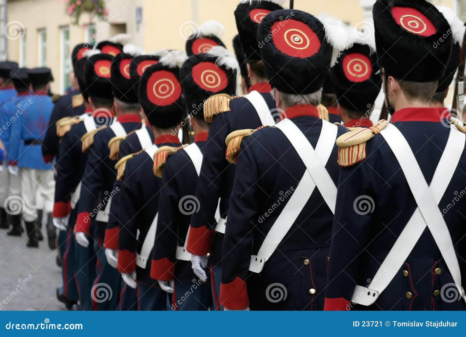 Historische Soldaten