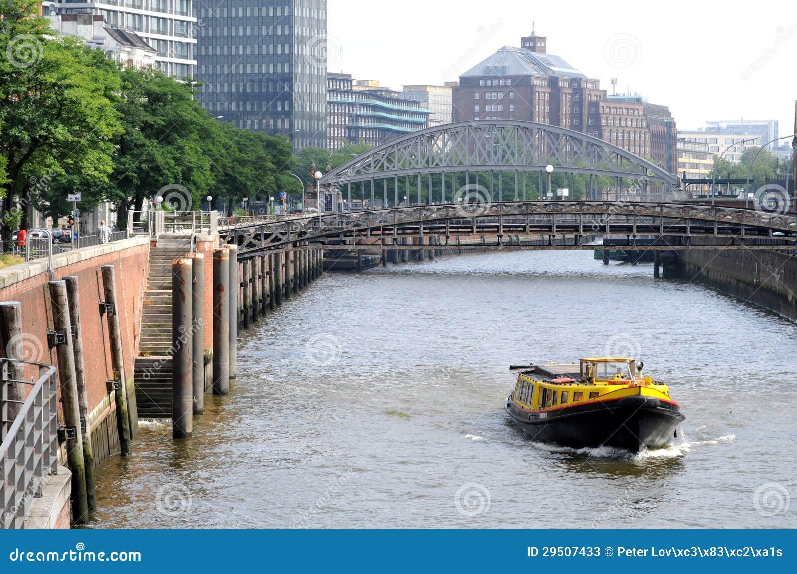 Historische speicherstadt in Hamburg