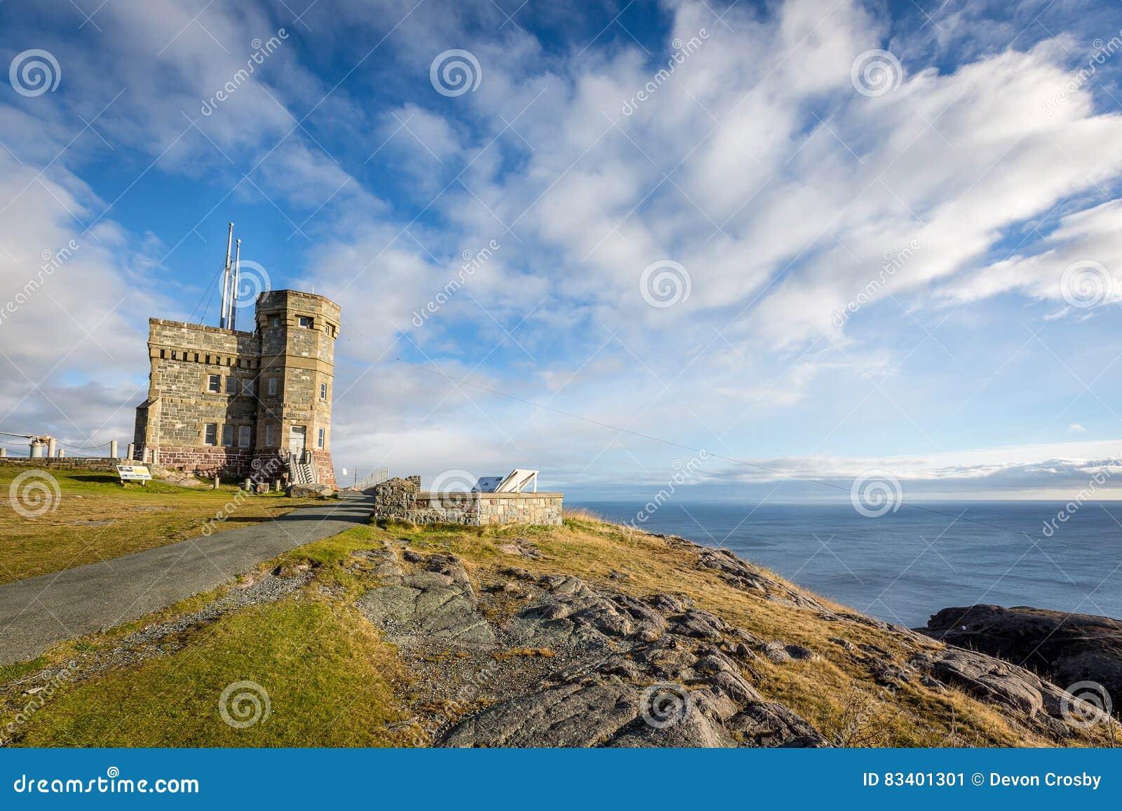 Historischer Cabot Tower, Signal-Hügel, Neufundland und Labrador