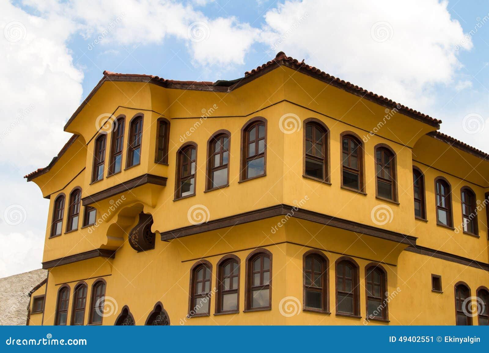 Download Historisches Gebäude In Odunpazari Eskisehir Stockbild - Bild von aufbau, groß: 49402551