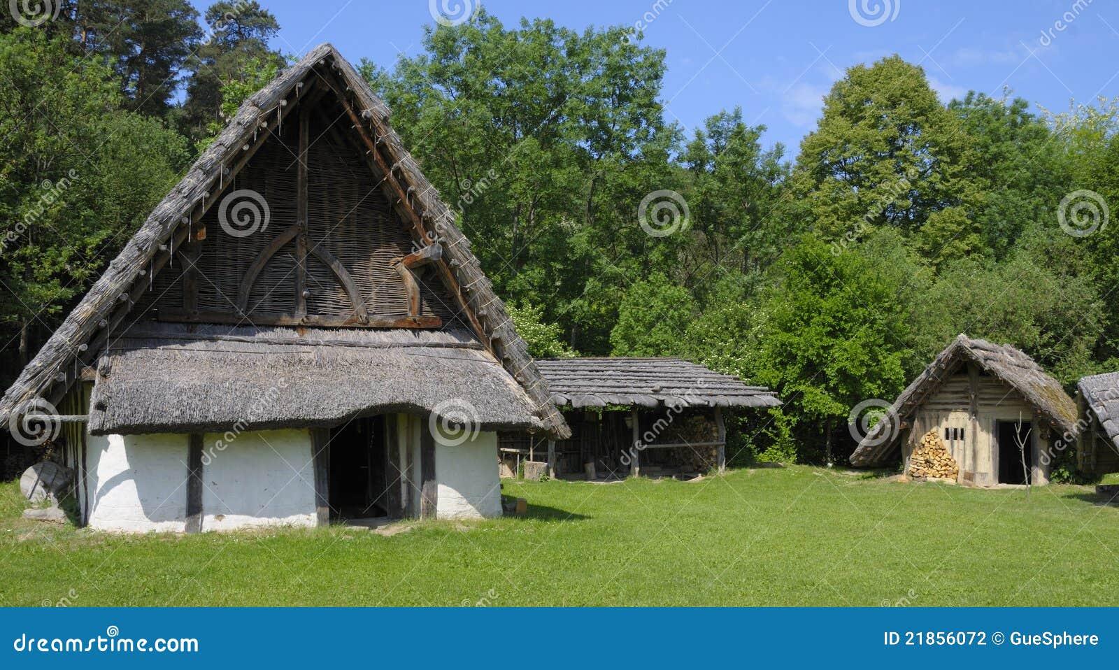 Germanisches Dorf