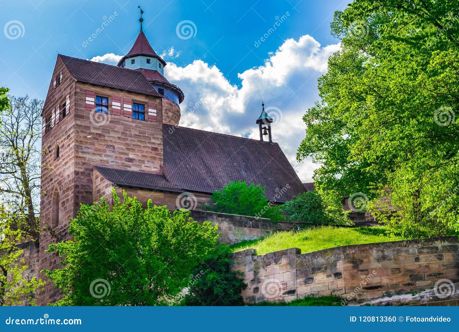 Historisches Schloss Kaiserburg von Nürnberg, Deutschland