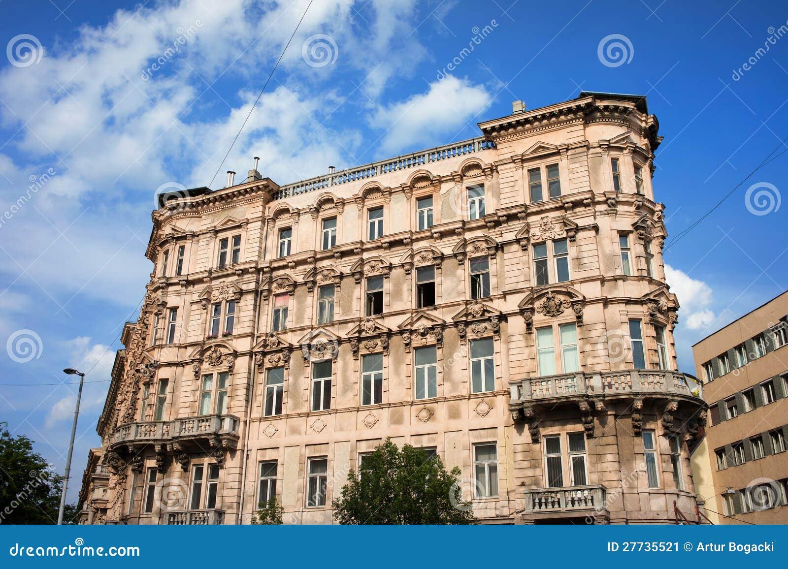 Historisches Wohnungs-Haus in Budapest