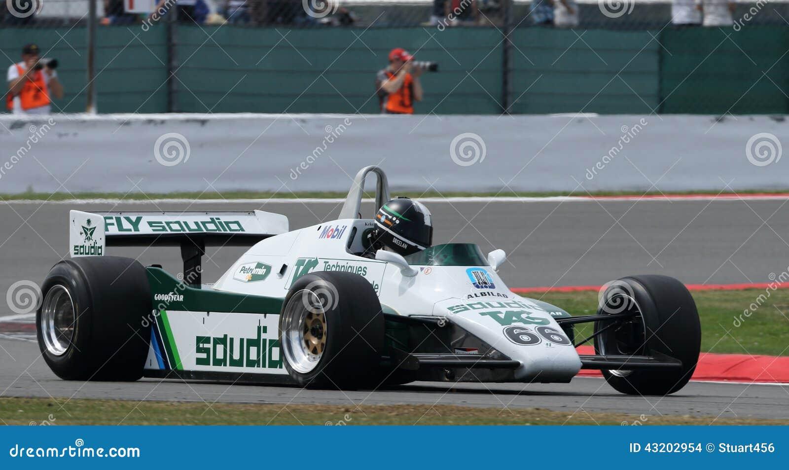 Download Historisk Formel 1, Silverstone Klassiker Redaktionell Fotografering för Bildbyråer - Bild av formel, klassiskt: 43202954